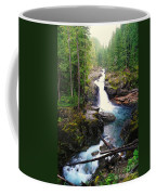 Silver Falls Full View  Coffee Mug