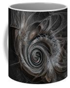 Silver Spiral Coffee Mug