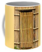 Simple Bamboo Door Coffee Mug