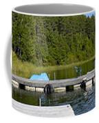 Simple Waterslide On Portage Lake Coffee Mug