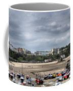 Simply North Beach From Tenby Harbour Coffee Mug