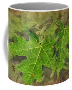 Simply Summer Maple Leaves Coffee Mug