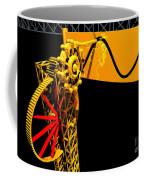 Sine Wave Machine Landscape 1 Coffee Mug