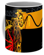 Sine Wave Machine Landscape 2 Coffee Mug