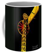 Sine Wave Machine Portrait 4 Coffee Mug