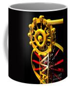 Sine Wave Machine Portrait 7 Coffee Mug