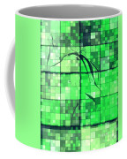 Sinful Geometric Green Coffee Mug