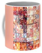 Sinful Geometric Red Coffee Mug