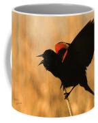 Singing At Sunset Coffee Mug