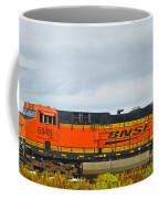 Single Bnsf Engine Coffee Mug