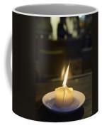 Single Candle Flame, Defocussed Coffee Mug