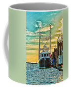 Single Fish Boat Hdr Coffee Mug