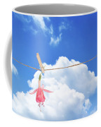 Single Fuchsia Head Coffee Mug