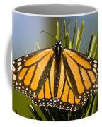 Single Monarch Butterfly Coffee Mug