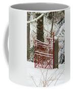 Single Red Gate Coffee Mug