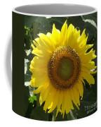 Single Sunflower Coffee Mug