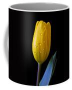 Single Yellow Tulip Coffee Mug