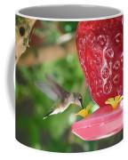 Hummingbird Sipping Coffee Mug