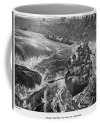 Sir Henry Morton Stanley (1841-1904). English Journalist And Explorer; Wood Engraving, 1880 Coffee Mug by Granger