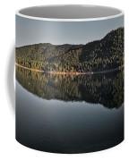 Siskiyou Lake Panorama Coffee Mug