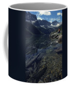 Sitting Along The Sheep River Coffee Mug