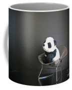Sitting Meditation. Floyd From Travelling Pandas Series. Coffee Mug