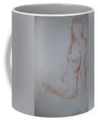 Sitting Woman 2 Coffee Mug