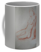 Sitting Woman Coffee Mug