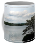 Skaneateles Lake In Ny Finger Lakes Water Color Effect Coffee Mug