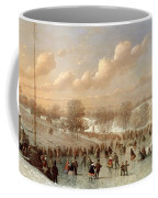 Skating Scene Coffee Mug