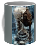 Skeleton In Gas Mask Coffee Mug