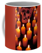 Skull And Candles Coffee Mug