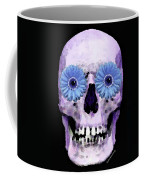 Skull Art - Day Of The Dead 3 Coffee Mug