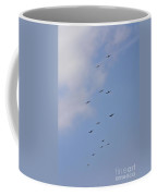 Sky Full Of Warbirds Coffee Mug