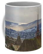 Skyline Of Zurich From The University Coffee Mug