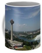 Skylone Tower And Niagara Falls Coffee Mug