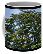 Slanted Branches Coffee Mug