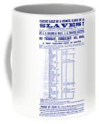 Slave Auction Notice Coffee Mug