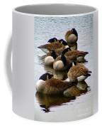 Sleepy Geese Coffee Mug