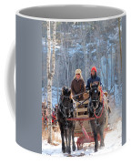 Sleigh Ride In The Frontenac Axis Coffee Mug