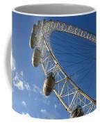 Slice Of The Wheel Of London Eye From An Angle Coffee Mug