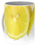 Sliced Lemon In Fizzy Water Coffee Mug