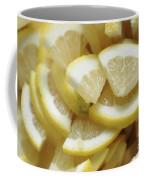 Slices Of Lemon Coffee Mug