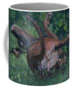 Sliding In Coffee Mug