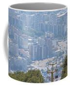 Sliven Bulgaria From Chair Lift Coffee Mug