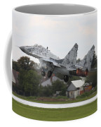 Slovak Air Force Mig-29 Fulcrum Taking Coffee Mug