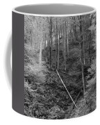 Slovenian Forest In Black And White Coffee Mug