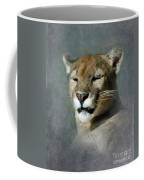 Slumbering Mountain Lion Coffee Mug