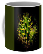Small Green Cactus Coffee Mug