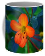 Small Orange Flower Coffee Mug